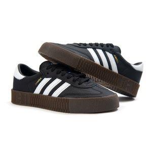 Adidas Sambarose Black and White Trainers 👟